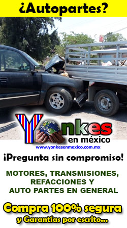 ¡Autopartes usadas! - Yonkes en México
