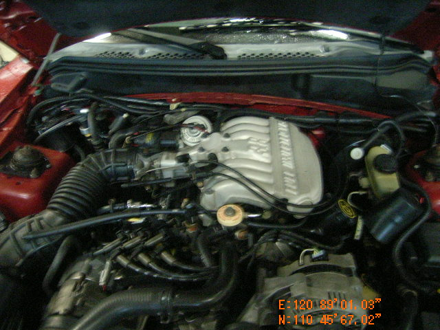 Motor Ford Mustang Cil