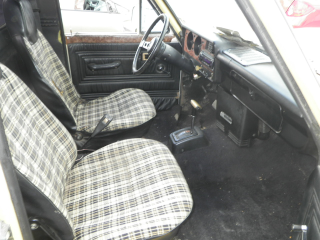 Interior Ford Courier Modelo on 1980 Buick Lesabre